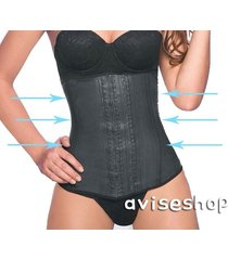 waist trainer slim body shaper corset latex rubber cincher firm tummy belt
