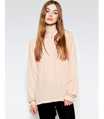 maximo drop shoulder top - l fawn