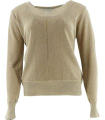 due amanti pullover blondie-gold