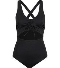 costume intero in tessuto sostenibile (nero) - bodyflirt