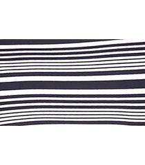 women's sea level square neck bikini top, size 8 us - blue