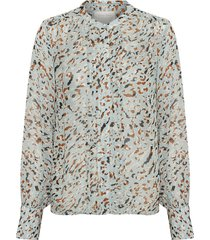 30305740 abstract leo print blouse