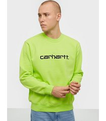 carhartt wip carhartt sweat tröjor black