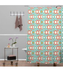 deny designs heather dutton ring a ding shower curtain bedding