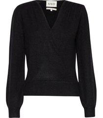 soft mohair sweater gebreide trui zwart maud