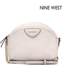 cartera nine west  payton mini crossbody- beige