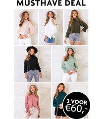 musthave deal cold shoulder blouses