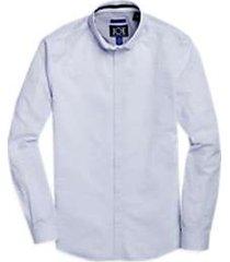 joe joseph abboud blue stripe repreve® sport shirt