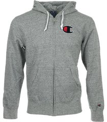 sweater champion hooded full zip sweatshirt