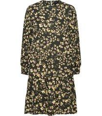 dress alice knälång klänning grön lindex