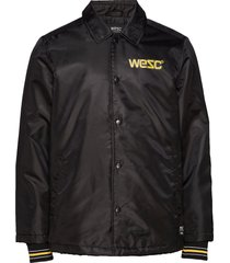 cuffed coach 1999 jacket tunn jacka svart wesc