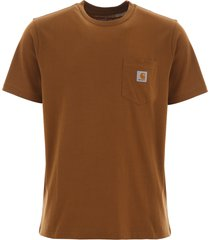 carhartt logo patch t-shirt