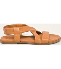 aldo - sandały skórzane galaradeb