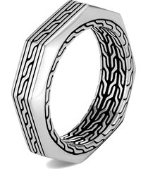 'asli classic chain' sterling silver band ring
