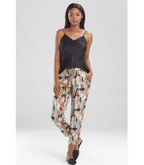 natori dynasty pants sleepwear pajamas & loungewear, women's, size s natori