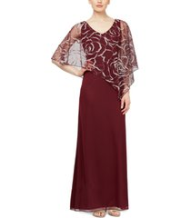 sl fashions overlay gown