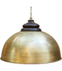 villa2 dom retro large pendant with accent solid wood hand carved shade holder in brushed rich look lacquered finish