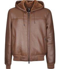 desa 1972 plain zipped jacket