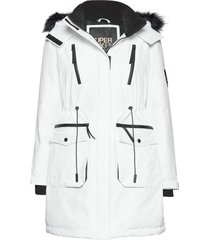aiko everest icon parka parka lange jas jas wit superdry