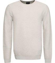 giorgio armani pique-knit pullover