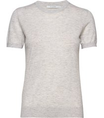 josefa sl knitted top t-shirts & tops knitted t-shirts/tops grå andiata