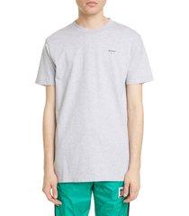 men's off-white logo slim fit t-shirt