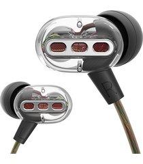 audifonos doble drive hifi subwoofer bass qkz kd8