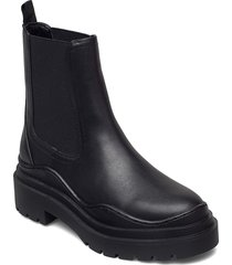 nacho shoes chelsea boots svart mango