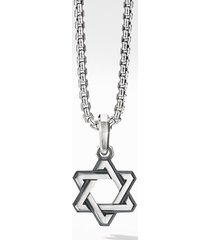 men's david yurman deco star of david pendant