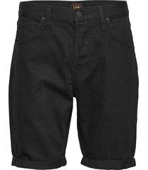 5 pocket short jeansshorts denimshorts svart lee jeans
