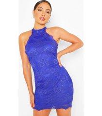 bodycon mini dress, blue