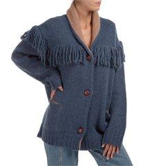 cardigan maglione maglia donna