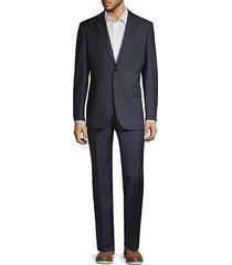 classic-fit wool suit