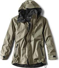 orvis waterproof rain jacket
