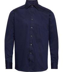 micro braid shirt overhemd business blauw eton