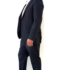 traje azul oscuro oscar de la renta b8sut12-nv