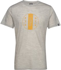 bula merino wool tee t-shirts short-sleeved grå bula