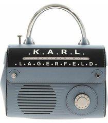 k/ikonik telephone mini top handle bag