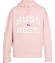 hugo boss boss x russell athletic hoodie