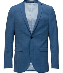 george f mid blue suit blazer colbert blauw matinique