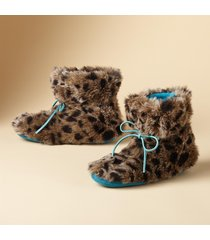 creature comfort booties - fleece slipper boots
