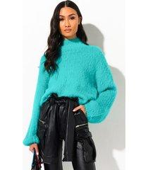akira warm forever fuzzy sweater