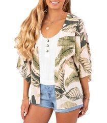 women's rip curl coco beach jacket