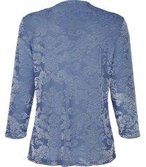 blommönstrad topp dress in ljusblå