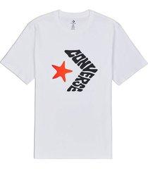 t-shirt korte mouw converse 10018870-a02