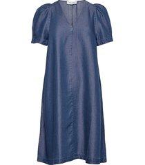 dhlouisa dress dresses everyday dresses blå denim hunter