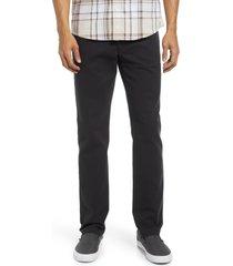 men's treasure & bond men's slim fit five pocket pants, size 36 x 32 - black