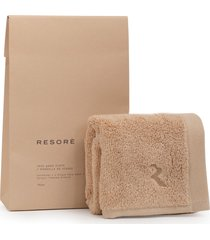 resore face wash cloth in toasted almond at nordstrom
