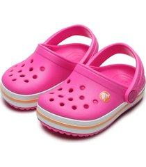 babuche crocs infantil clog rosa