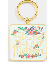 natural life® strong as a mother key chain - multi